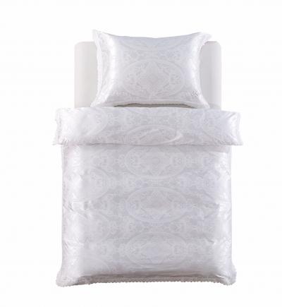 Obliečky Joyel biele s čipkou (jacquard)