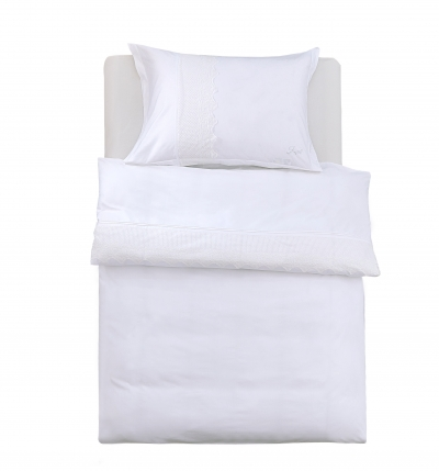 Obliečky Joyel biele s čipkou