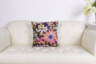 Dizajnový vankúš Joyel farebný kvet
