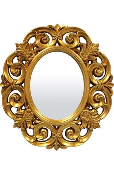 Zrkadlo zlaté (ovál)