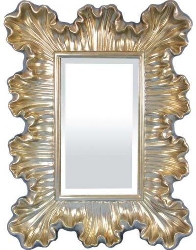 Zrkadlo zlato-strieborné (list)
