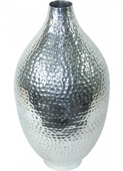 Váza strieborná kovová (hruška)