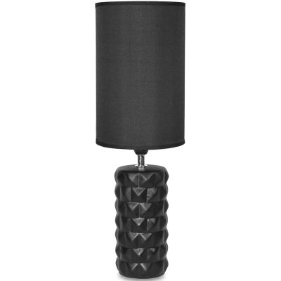 Stolová lampa čierna