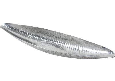 Tácka tepaná strieborná (podlhovastá)