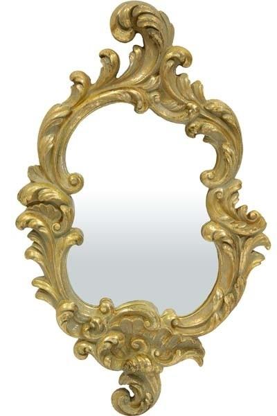 Zrkadlo zlaté malé (barok)