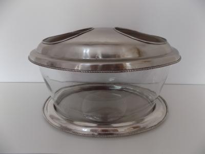 Luxusný kovovo-sklený ICEBOX