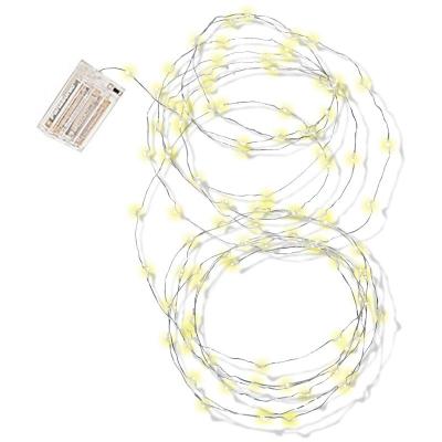 Dekoratívne osvetlenie LED žlté 5m