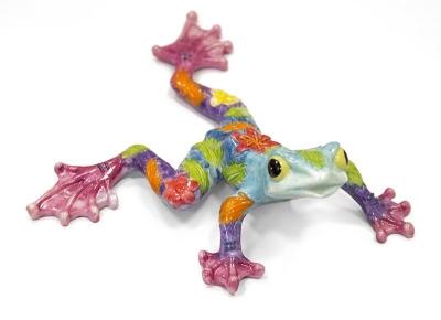 Keramická žaba multicolor (ona)