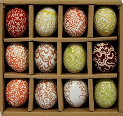 Keramické mini vajíčko (viacfarebné)