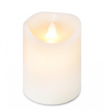 LED sviečka z vosku (malá)